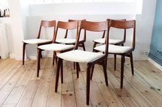 chaise-teck-boomerang-alfred-christensen-slagelse-maison-nordik-MNC249.1  www.maisonnordik.com Danish Modern Midcentury modern