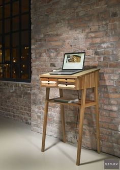 SIXtematic Standing Desk — Shoebox Dwelling | Finding comfort, style and dignity…