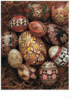 Tutorial Instructions for Making Ukranian Pysanky Eggs