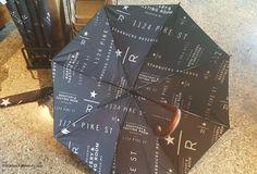 The Starbucks Umbrella! - StarbucksMelody.com