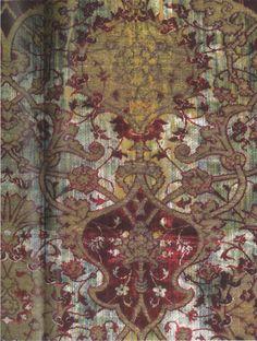 Velvet by famed Spanish designer Mariano Fortuny (1871-1949). via all things paint and plaster