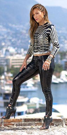 I love her hair! Jennifer Lopez.- Follow The Leader!