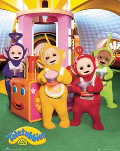 Teletubbies - Custard - Official Mini Poster
