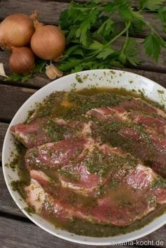 Grillmarinade – würzige Kräutermarinade - katha-kocht You are in the right place about healthy dinner trader joes Here we offer you the most beautiful pictures about the healthy dinner videos you are Marinade Pour Barbecue, Barbecue Sauce Recipes, Grilling Recipes, Crockpot Recipes, Bbq Sauces, Barbecue Bbq, Bbq Ribs, Salad Recipes For Dinner, Chicken Salad Recipes