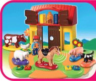 Play & Learn Farm - My daughter loves it when we sing Old McDonald, so this would be lots of fun.
