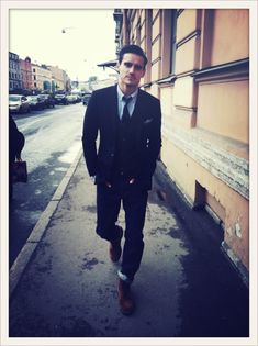 To girls, a guy in a suit is the equivalent of a girl in lingerie to a man. <3