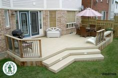 This deck plan is for a large,