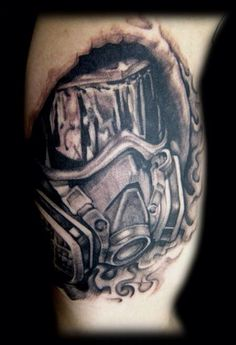 1000 images about tattoos on pinterest gas masks it is finished and gas mask tattoo. Black Bedroom Furniture Sets. Home Design Ideas