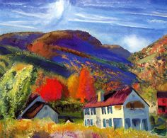 George Bellows, My House, Woostock, 1924