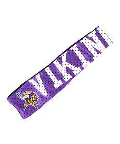 Little Earth Minnesota Vikings FanBand Headband 6e7c95658