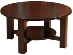 You'll save on every piece of furniture at Amish Outlet Store! We custom make every item, and you can get the Havannah Round Coffee Table in Oak with any wood and stain.