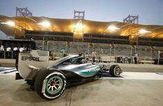"""""""2015 Bahrain Grand Prix - Race"""" - Mercedes-Benz Social Publish"""
