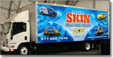 TruckSkin makes your truck a mobile billboard.