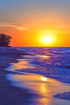 Would like to be here making footprints in the wet sand...