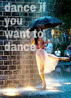 dance if you want to dance! :) -Masterplan, Oasis