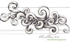 a little lime: swirls