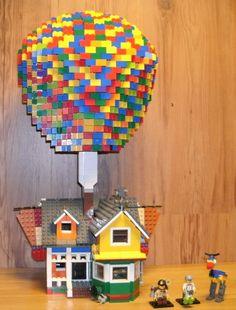 Carl Fredricksen's house (UP) : a LEGO® creation by Alan C : MOCpages.com