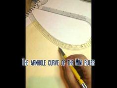 Measuring an armhole