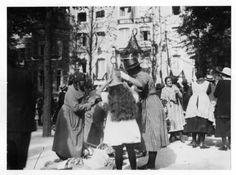 viering van het 25jarig jubileum van koningin Wilhelmina korte voorhout den haag 1923