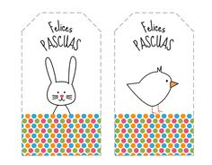 Elementary Spanish, Elementary Schools, Easter Treats, Craft Activities, Happy Easter, Gift Tags, Origami, Projects To Try, Kids Rugs