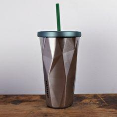 Starbucks Stainless Steel Chiseled Tumbler