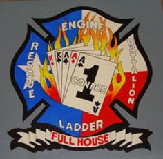 Conroe Fire Department - Station 1 Logo