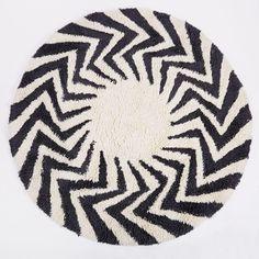 Zigzag Circle Shag R