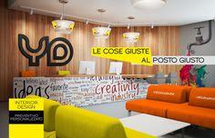 """Arrediamo"""" la tua attività in modo creativo e con stile: gli """"architetti"""" della tua pubblicità!  personalizzazione interior design  info:392.3648411"""