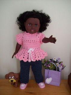 "Alicia Ann - 18"" doll <-PDF added-> image intense - Free Original Patterns - Crochetville"