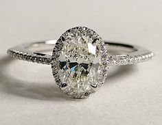 Vintage Engagement Ring. My second choice to center stone after a Radiant Cut.