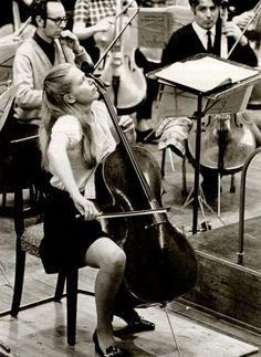 A stunning photo of Jacqueline du Pré rehearsing with the NZBC Symphony Orchestra (now known as the New Zealand Symphony Orchestra) in Wellington, New Zealand.     She performed only once in New Zealand, playing the Haydn C major concerto and the Dvorak concerto in September 1970. Those who played in the orchestra, and those present at the concert remember it as an electrifying occasion.     Photo by Tom Shanahan