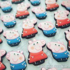 Pig Cookies, Mavis, Peppa Pig, Calm, Sugar, Desserts, Character, Instagram, Food