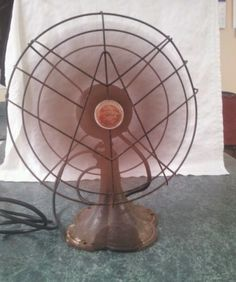 Working EMERSON JR. JUNIOR 2660-E 2-Speed 12  Oscillating Fan - Condition Issues | eBay