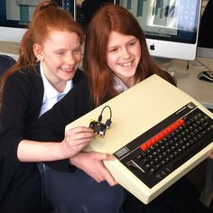 The bbc micro:bit is 18 times more powerful, 70 times smaller and 817 times lighter than the original BBC micro! Marshall Speaker, Lighter, Bbc, Times, The Originals, Instagram Posts