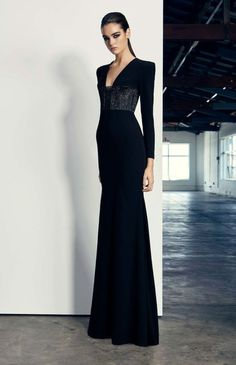 Get inspired and discover Alex Perry trunkshow! Shop the latest Alex Perry collection at Moda Operandi. Alex Perry, Elegant Dresses For Women, Pretty Dresses, Wedding Robe, Long Sleeve Gown, Elegant Outfit, Beautiful Gowns, Designer Dresses, Mcqueen