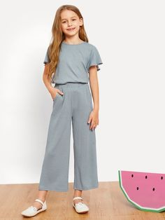 Girls Casual Dresses, Kids Outfits Girls, Cute Girl Outfits, Girls Fashion Clothes, Tween Fashion, Cute Outfits For Kids, Teen Fashion Outfits, Little Girl Dresses, Cute Casual Outfits