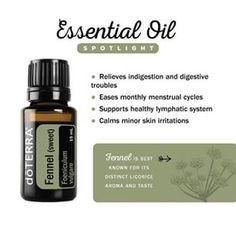 Used for centuries for its many health benefits, Fennel essential oil has pronounced antioxidant properties and is considered a tonic. It is often used to relieve indigestion and support improvements in the lymphatic system.