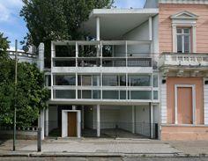 LE CORBUSIER,Casa Curutchet, La Plata, Buenos Aires, Argentina. 1949-1953.