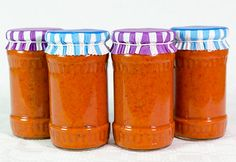 Red Pepper Mustard and Honey Spread Canning Pickles, Romanian Food, Romanian Recipes, Diy Cans, Freeze Drying, Preserves, Mustard, Pasta, Good Food