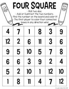 Math games 315674255131860760 - FREE Math Games Lucky to Be in First 2 Source by jenbussan 1st Grade Math Games, Free Math Games, Math Card Games, Kindergarten Math Games, Math Games For Kids, First Grade Math, Fun Math, Teaching Math, Math Activities