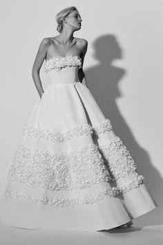 Carolina Herrera Bridal Spring 2018 Fashion Show Collection