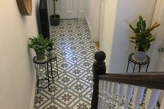Montpelier Square Wall& Floor Tiles 45x45cm