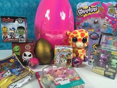 Blind Bag Unboxing Fun Shopkins Tokidoki Unicornos Frozen MLP Zelfs Surprise Egg - YouTube
