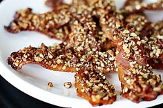 """Maple Pecan Bacon.""    Oh My, this stuff will kill ya, but what a way to go!"