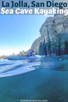 San Diego is known for its water sports. Kayaking is one of those many water activities! Enjoy kayaking the sea caves of La Jolla. All the details on this adventure can be found in this guide! A discount code is included as well. If you are looking for the best things to do in San Diego, try sea cave kayaking in La Jolla.   Outdoor things to do in San Diego   best places to kayak in the US   best places to kayak in California   San Diego things to do in Summer   La Jolla Caves, Sea Cave, Run Tour, San Diego Travel, Water Pictures, Kayak Tours, Travel Workout, Water Activities, California Travel