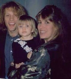 Jon Bon Jovi Dorothea and Stephanie Bongiovi