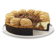 The #Cheesecake Factory's Adam's Peanut Butter Cup Fudge Ripple recipe #copycat