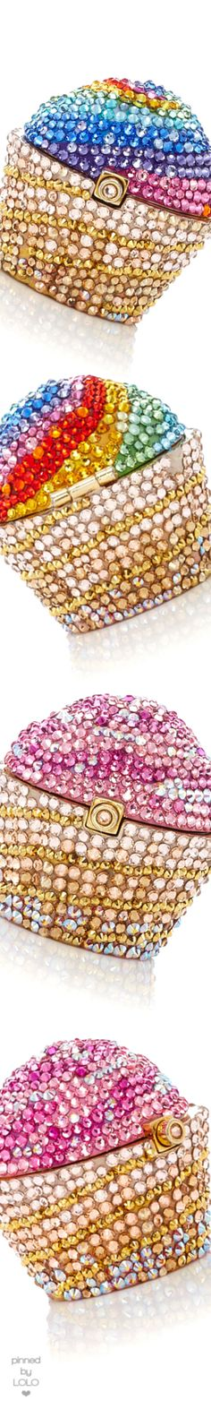 Judith Leiber Couture Cupcake Pillbox