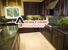 Buy flooring from UK's leading wholesaler supplier Astrum Granite in London, UK. We offer a wide variety of natural with like and etc. Call on and order your materials! Stone Kitchen, Granite Kitchen, Best Kitchen Worktops, Marble Worktops, Quality Kitchens, Kitchen Colors, Interior Design Kitchen, Cool Kitchens, Natural Stones