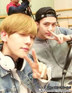 [OFFICIAL] 150407 KBS Cool FM Kiss The Radio: #EXO
